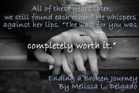 Ending a Broken Journey by Melissa L Delgado_Teaser Pic B