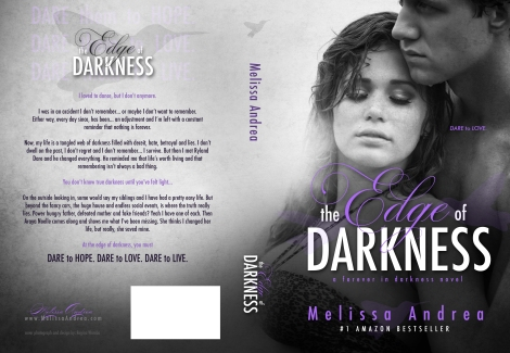 The Edge of Darkness by Melissa Andrea_Book Jacket