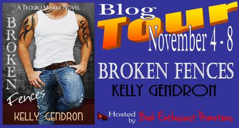 Broken Fences Blog Tour Banner
