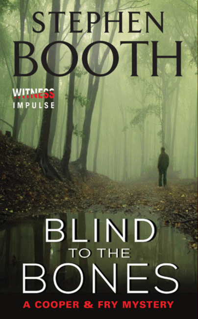 Book Cover ~ Blind to the Bones
