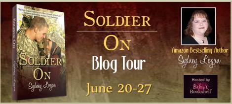 Soldier On Sydney Logan Blog Tour Horizontal