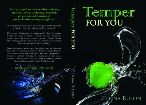 Temper For You print cover
