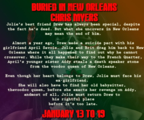 Teaser #4 Buried in New Orleans