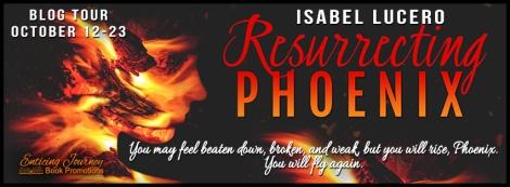 Resurrecting Phoenix Blog Tour Banner